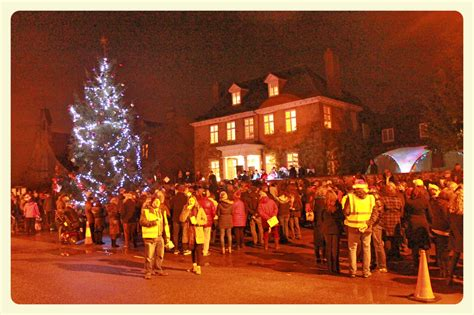 carols around the christmas tree 2015 shrivenham fete