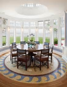 the circular dining room round houses and circular interior style