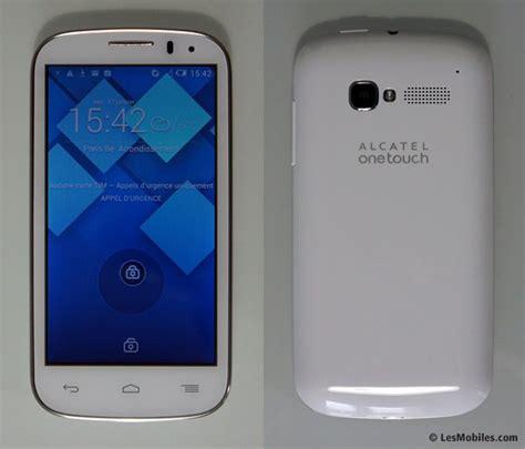 Hp Alcatel One Touch Pop C5 prise en du alcatel one touch pop c5 un android