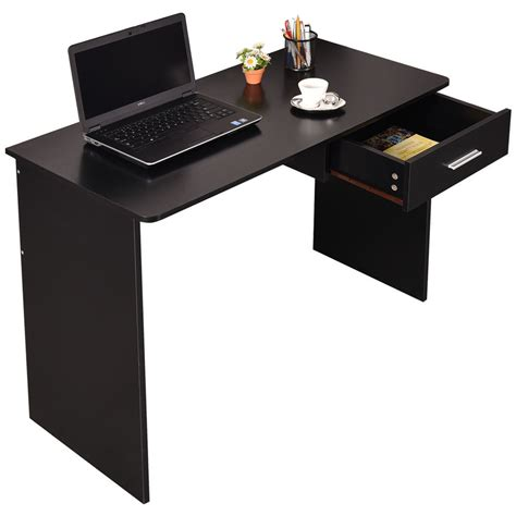 Laptop On A Desk Wood Computer Desk Laptop Pc Table Workstation Study Home Office Furniture New Ebay