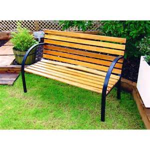 Wooden Bench For Garden Garden Bench Wooden Park Bench Garden Furniture Ebay
