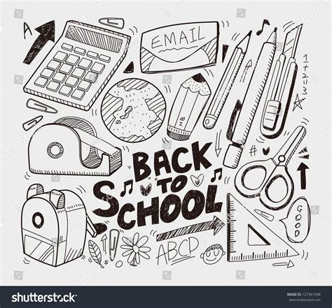 school doodle free vector image gallery school doodles
