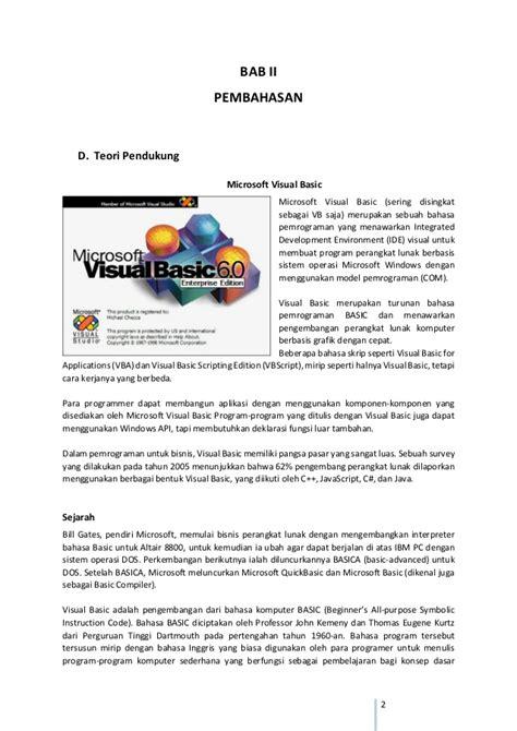 membuat sistem informasi sederhana berbasis web cara membuat program chatting sederhana dengan visual