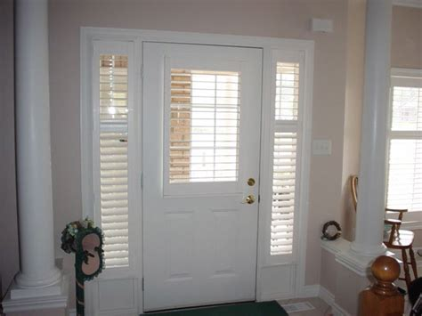 Front Door Window Shades Front Door Blinds And Front Doors Creative Ideas Front Door Window Coverings Front Door And