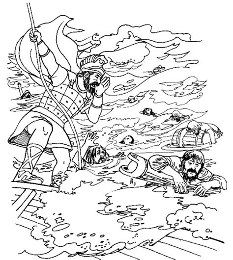 Free Coloring Pages Of Shipwreck Apostle Paul Coloring Pages