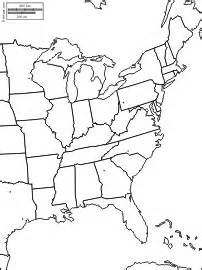 east coast of the united states free maps free blank