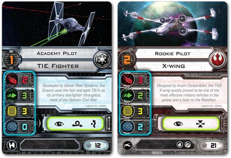 X Wing Pilot Card Template by The Back 40k X Wing How It Plays