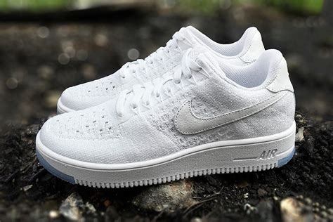 Nike Air 1 Flyknit Low White nike air 1 flyknit low white releases thursday