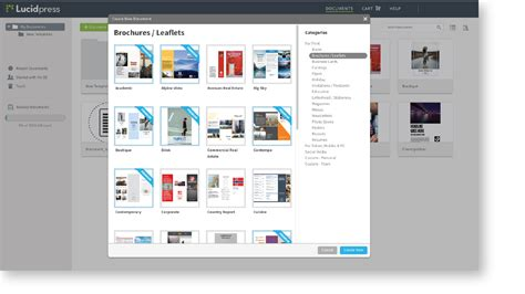 lucidpress templates web to print software for enterprise teams lucidpress