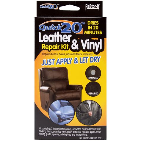 vinyl upholstery repair kit quick 20 leather vinyl repair kit