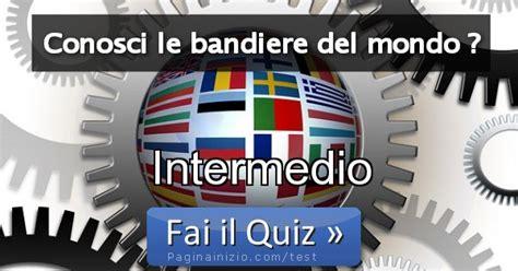 risultato test risultato test conosci le bandiere mondo intermedio