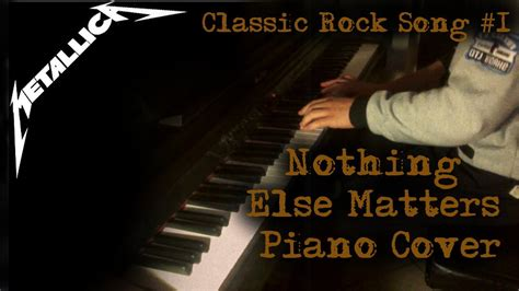 nothing else matters zero thirty metallica nothing else matters piano cover