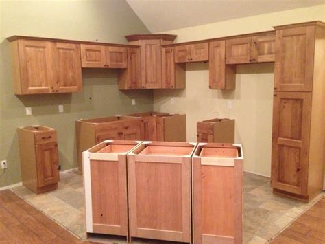rustic oak kitchen cabinets rustic knotty oak