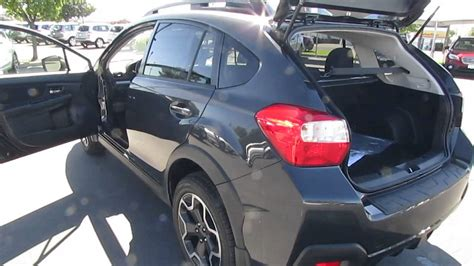 grey subaru crosstrek 2014 subaru crosstrek in dark grey metalic premium