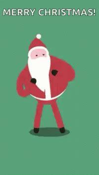 merry christmas santa gif merrychristmas santa dancing discover share gifs