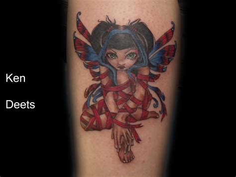 enchanted dragon tattoo fearured artist kenneth deets