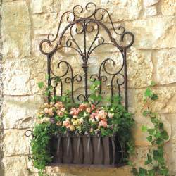 Iron Wall Planters by 1510 Farmhouse Fancy Fabulous Outdoor Spaces