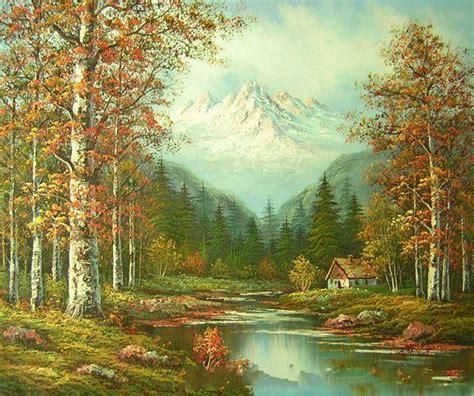 Mountain Landscape Oil Paintings Images Mountain Landscape Paintings