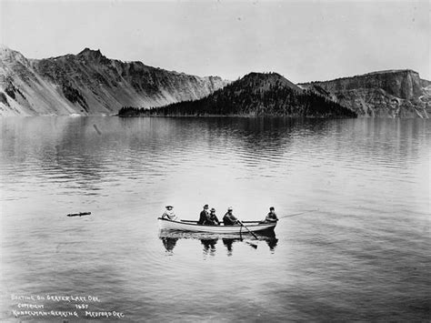 legend boats white lake creepy crater lake oregon exploring the legends lost