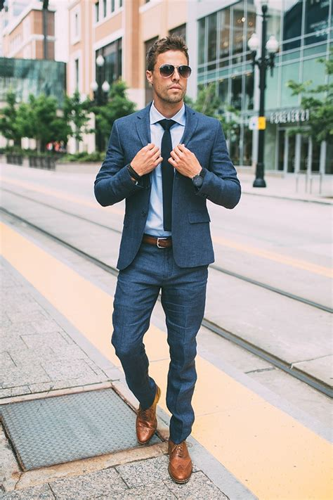 what color dress shoes does a man wear with a youtube 20 ways to wear blue suits with brown shoes ideas for men