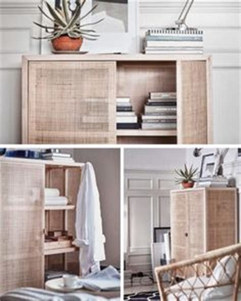 ivar shelves spruced up with fabric backings and this is the style of cupboard i want in the bathroom
