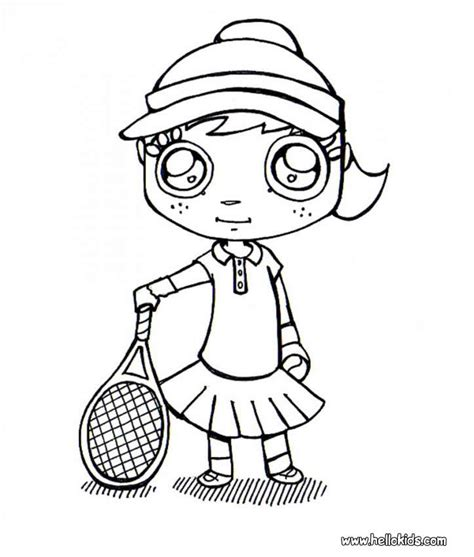 Tennis Court Coloring Page Coloring Pages Tennis Coloring Pages