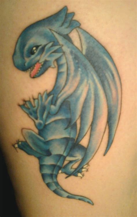 blue dragon tattoo vs blue pictures to pin on tattooskid