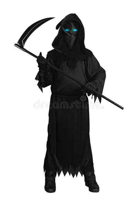 Black Ghost isolated stock photo. Image of awesome