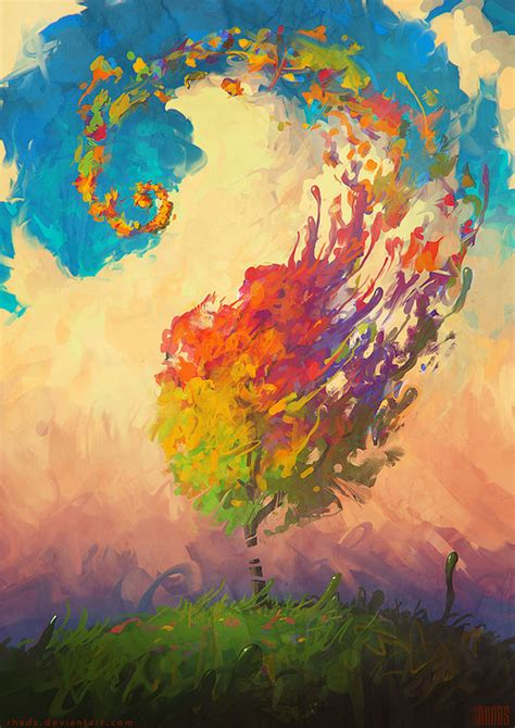 cool paintings color hurricane by rhads on deviantart