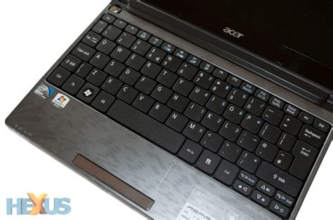 Keyboard Notebook Acer Aspire One D260 acer aspire one d260 netbook review laptop hexus net page 2