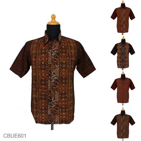 Kemeja Sifon Etnik Furing Cantik Murah baju batik kemeja ekslusive motif kawung klasik batik pria exclusive murah batikunik
