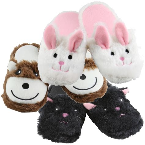 animals slippers wholesale children s clothing plush animal slippers