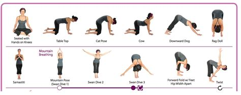 printable beginner yoga poses chart yoga for beginners printables comeback momma family