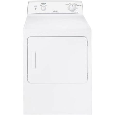 hotpoint 6 0 cu ft gas dryer in white htdx100gmww the