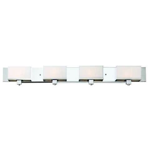 bel air lighting 4 light polished chrome rectangle vanity