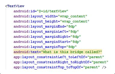 android xml layout bold text android xml strings