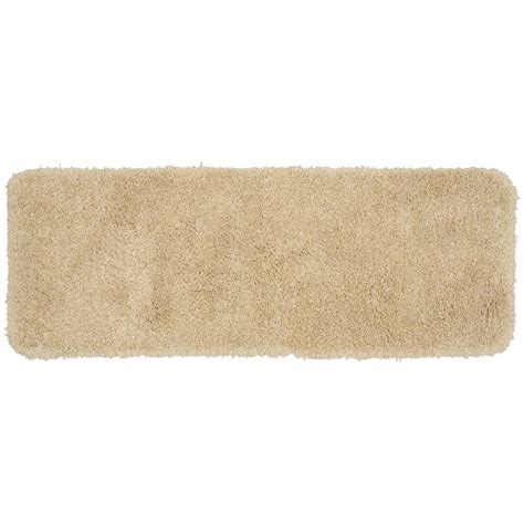 bathroom accent rugs garland rug serendipity linen 22 in x 60 in washable