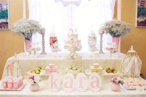 shabby chic party decorations party favors ideas