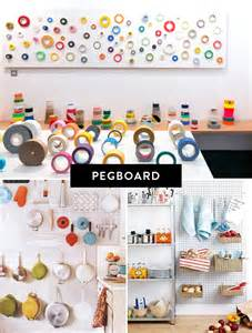 pegboard ideas pegboard kitchen storage images