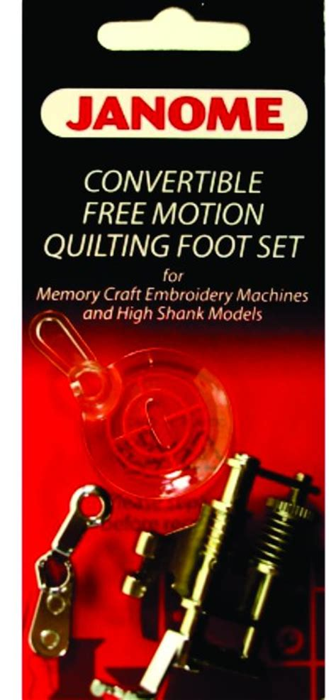 Janome Free Motion Quilting by Janome Accessories