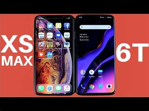 iphone xs max vs oneplus 6t speed test world top trends