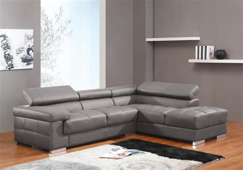 canapé d angle contemporain salon moderne cuir