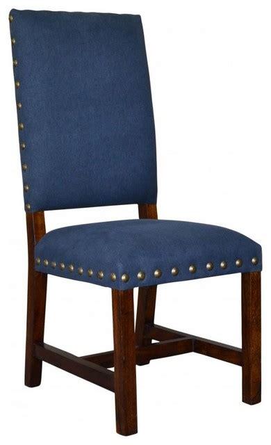 indigo blue dining chair set   southwestern dining