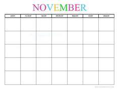 free printable blank monthly calendars 2018, 2019, 2020
