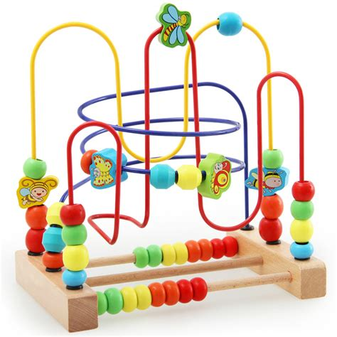 wooden bead maze wooden bead maze classic wooden toddlers