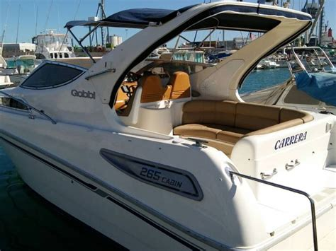 gobbi 265 cabin gobbi 265 cabin in alicante open boats used 55564 inautia