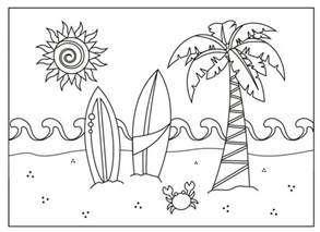 summer coloring pages 237 free printable summer coloring pages for