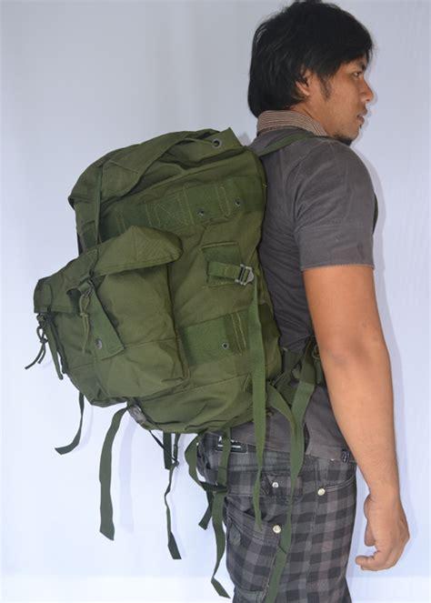 Tas Lebanon Tas Ransel Loreng Tas Punggung Army jual tas ransel punggung militer tni suryaguna distributor alat rumah tangga tas pos