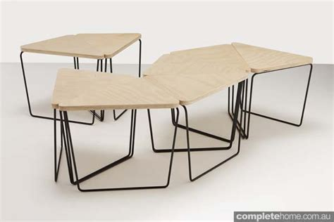 log triangular modular table fractals lets get geometric completehome