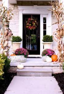 How To Get Curb Appeal - fall container garden ideas